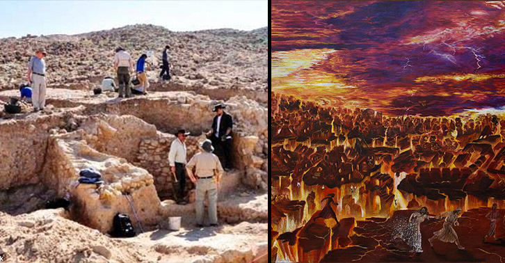 Has The Biblical City Of Sin Destroyed By God Been Found? UNILAD sodom 312