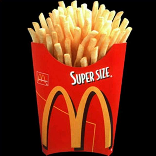 Discontinued McDonalds Food Items You Forgot Existed UNILAD superfries12