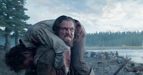 Leonardo DiCaprio Slept In Animal Carcasses And Ate Raw Bison For New Role UNILAD the revenant leonardo dicaprio tom hardy ftr12101