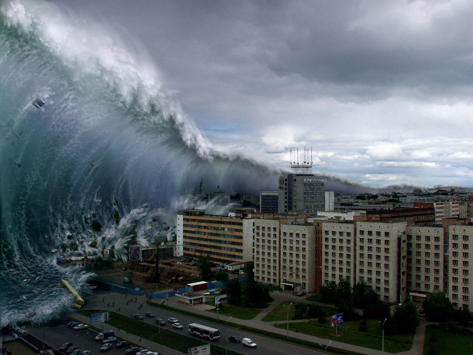 This Mega Tsunami Could Wipe Us All Out, Apparently UNILAD tsu15