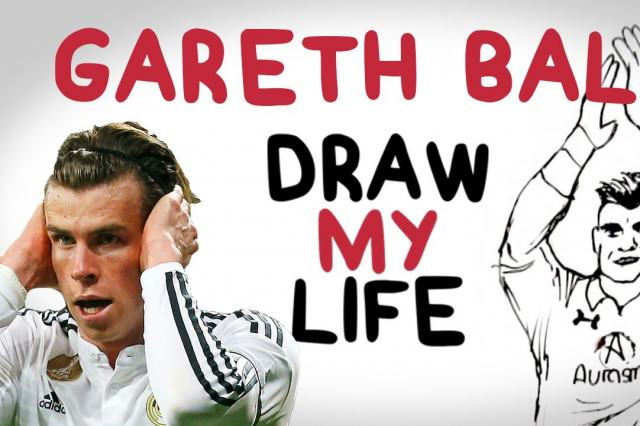 WATCH: DRAW MY LIFE with Gareth Bale