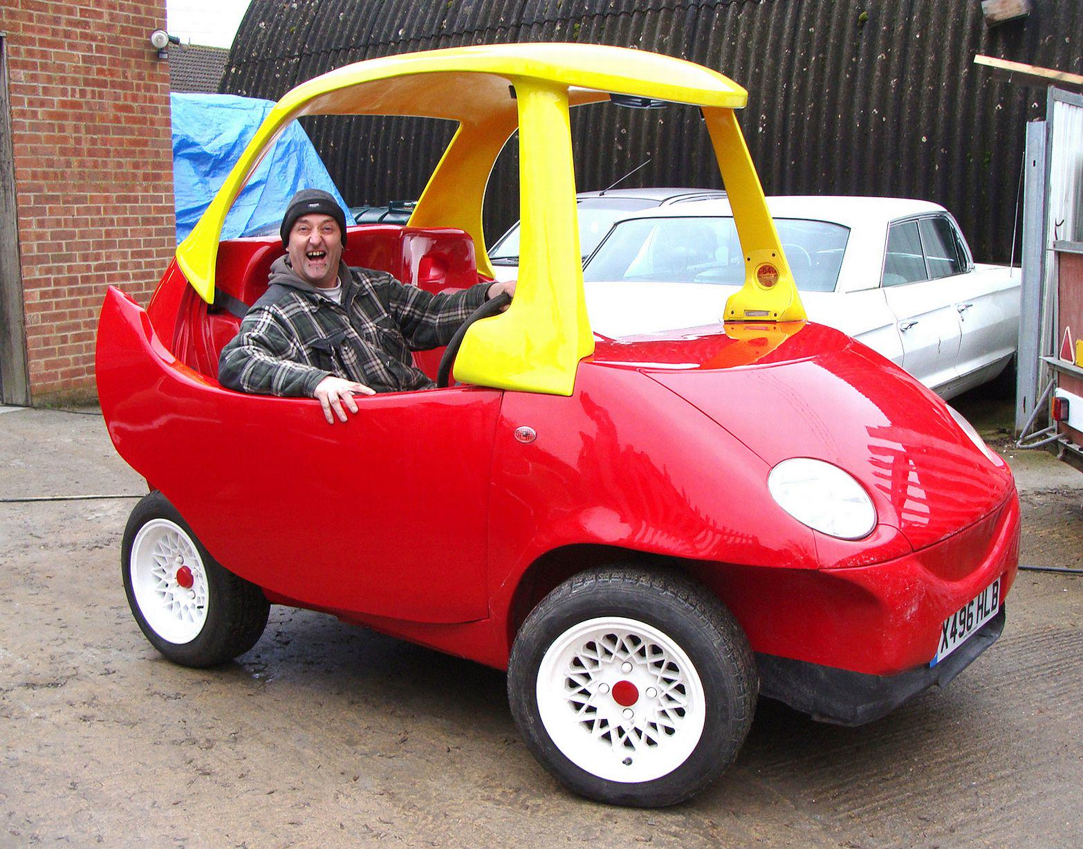 A Roadworthy Version Of Your Favourite Childhood Toy Car Is Now For Sale UNILAD wenn70456