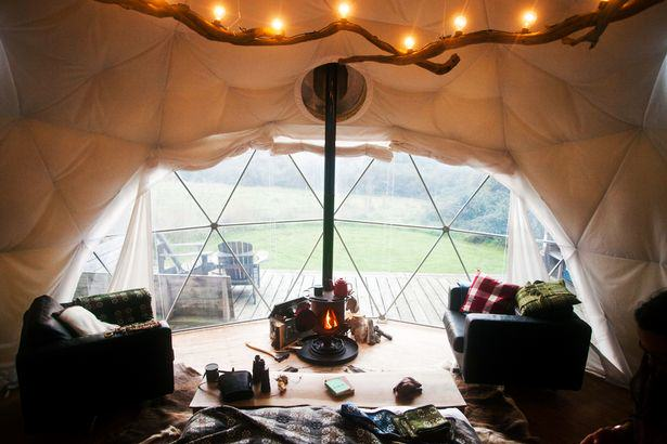 These Amazing Cabins Will Make You Want To Quit Your Job And Move UNILAD yurt wales5