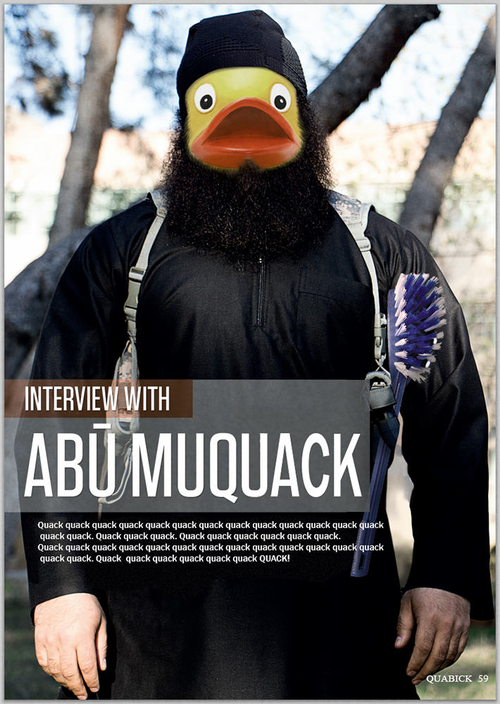 People Are Trolling The Shit Out Of ISIS Using Rubber Ducks 121