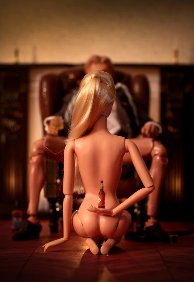 Artist Creates Images Of Barbie In Darkest, Most Bizarre And NSFW Situations 12227729 1092915810728182 5199870812017520095 n