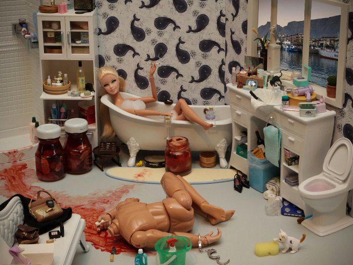 Artist Creates Images Of Barbie In Darkest, Most Bizarre And NSFW Situations 196718 204637492889356 1740253 n 1