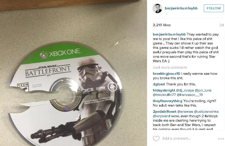 EA Under Fire For Allegedly Asking Artist To Praise Star Wars Battlefront 2969473 bb1