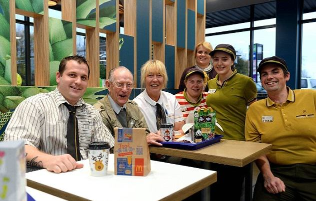Man, 93, Goes To McDonalds Every Day Because Hes Lonely, Gets Thrown Surprise Party 2EA25C6D00000578 3327184 image a 23 1448034175420