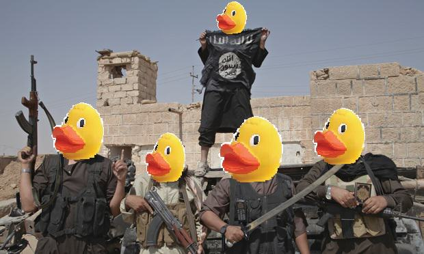 People Are Trolling The Shit Out Of ISIS Using Rubber Ducks 5