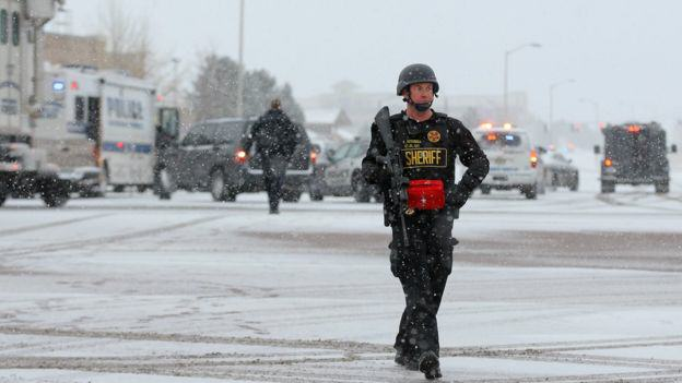 Three Dead After Lone Gunman Storms Abortion Clinic In The U.S. 86925739 030332961