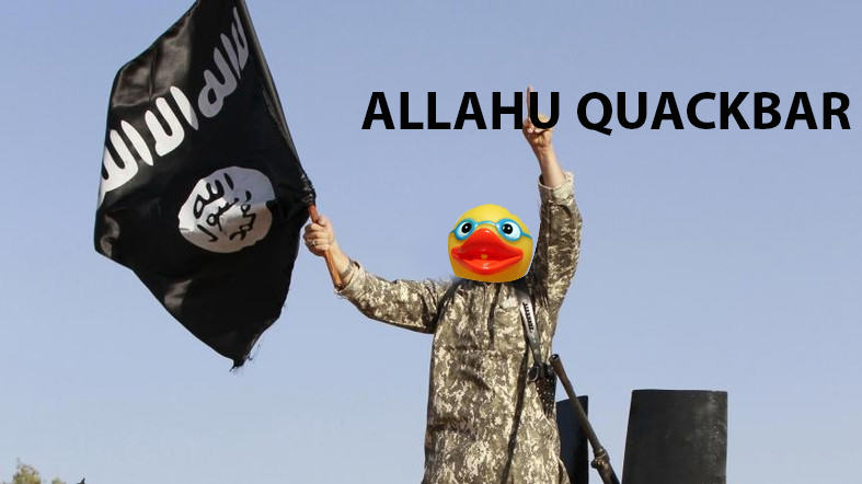 People Are Trolling The Shit Out Of ISIS Using Rubber Ducks 91