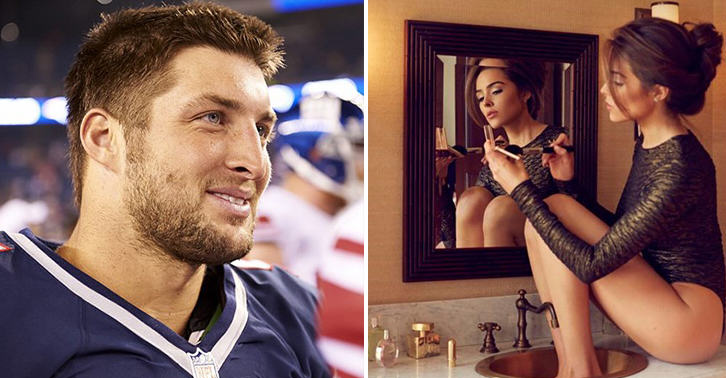 Miss Universe Dumped Tim Tebow Because He Wouldnt Have Sex With Her FaceThumb29