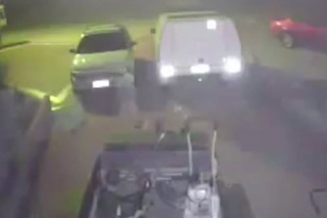 Viral Video Shows 'Ghost' Walking Across Guys Driveway GHOST21 640x426