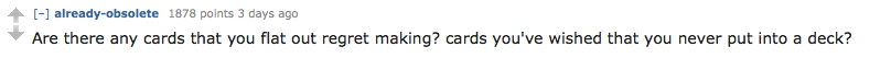 Cards Against Humanity AMA Delivers Hilarious Suggestions For New Cards Screen Shot 2015 11 22 at 20.49.23