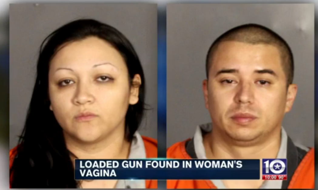 Cops Shocked As Woman Reveals A Loaded Gun Is In Her Vagina Screen Shot 2015 11 23 at 00.18.48