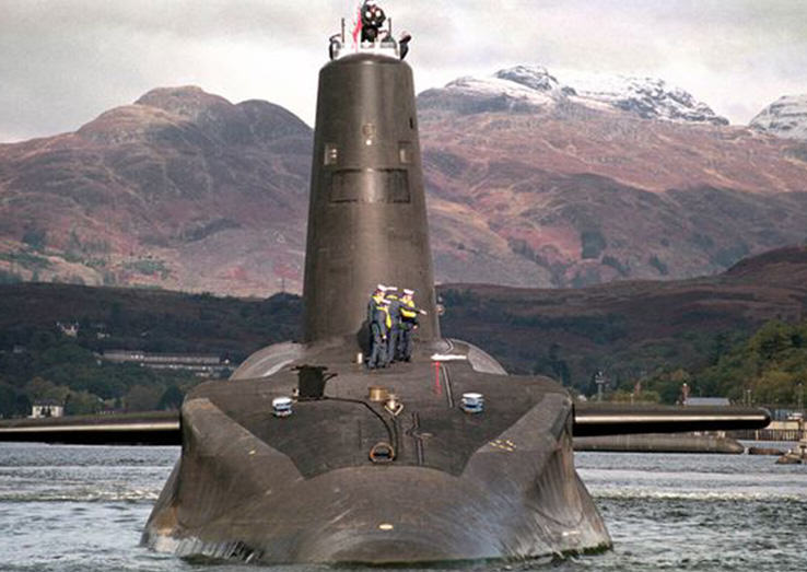 Britains Trident Nuclear Weapons Can Be Hacked, According To Experts Trident sub