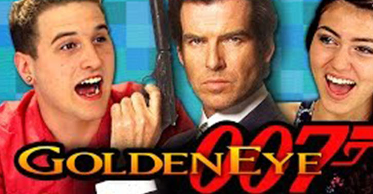 Teenagers React To Retro James Bond Game GoldenEye 007 UNILAD 007 1137823268