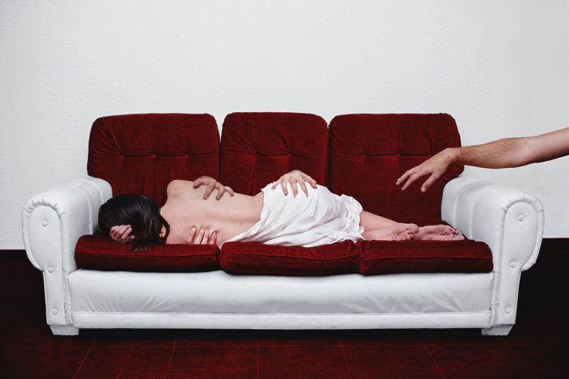 Photographer Takes Surreal Nudes To Explore Her Everyday Thoughts UNILAD 1052446