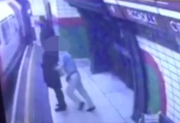 Shocking Footage Shows Man Push Young Woman Into Oncoming Tube Train UNILAD 149374