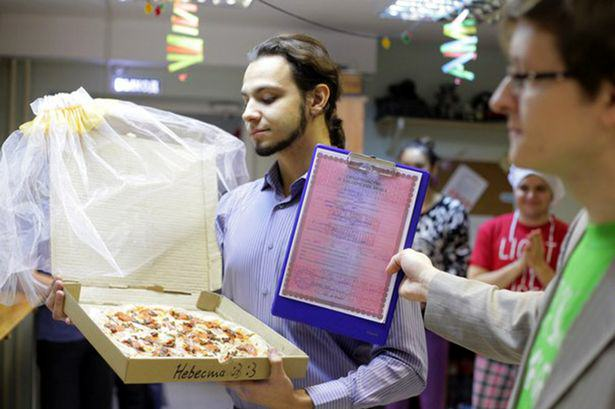 Man Marries Pizza Because Pizza Would Not Betray You And I Love It UNILAD 168050