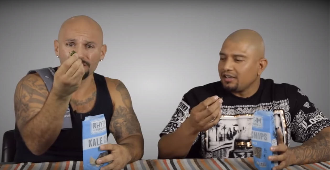 Watch These Hispanic Gangsters Try Organic Vegan Food For First Time UNILAD 274243