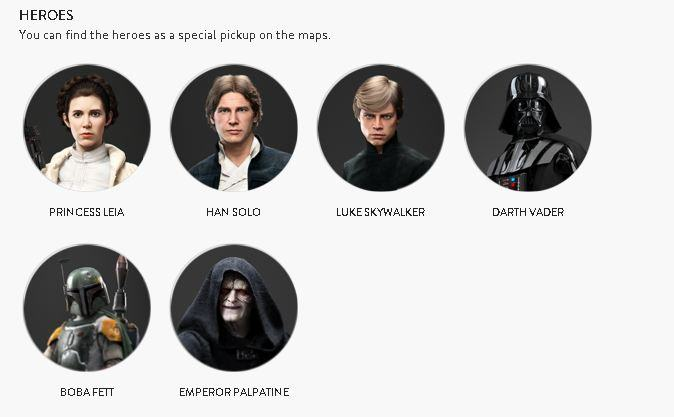Check Out All Star Wars Battlefront Star Cards Ahead Of Launch UNILAD 2963425 heroes93787