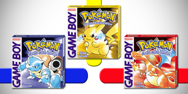 Pokemon Red, Blue And Yellow Are Coming To Nintendo 3DS UNILAD 2965045 gotta54962