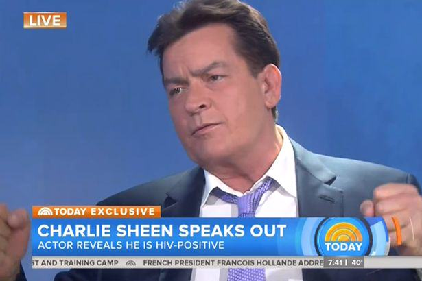 Charlie Sheen on NBC