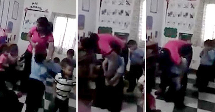 Video Shows Terrified Kid Getting Stabbed In Buttocks With Syringe By Teacher UNILAD FaceThumb14934
