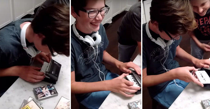This Video Of Teenagers Trying To Use A Walkman Is Ridiculous UNILAD FaceThumb49661