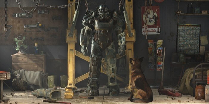 Heres How To Get Into Fallout 4s Secret Room Containing All Items UNILAD Fallout 4 A Dog and His Power Armor 700x35085908