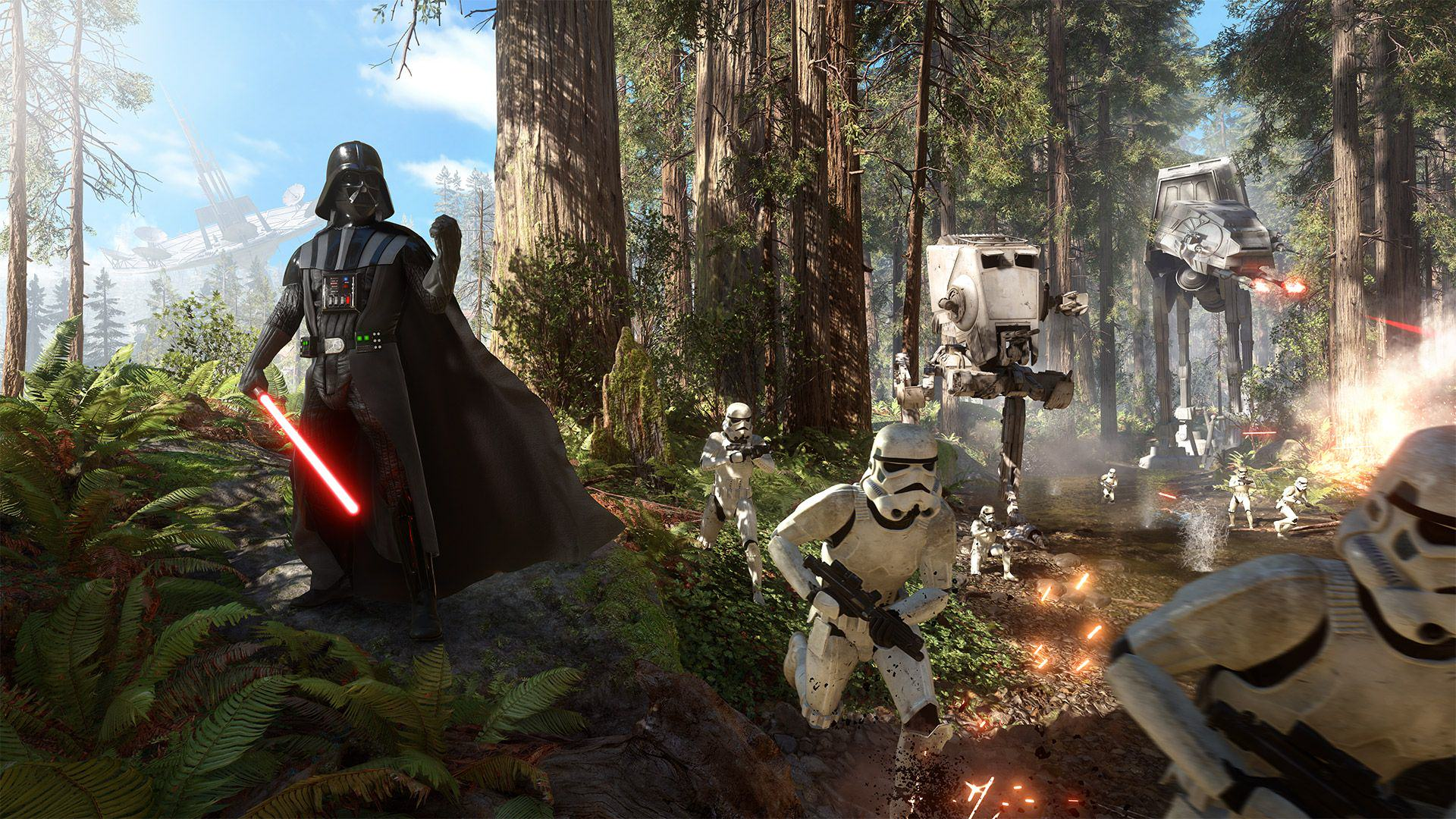 Play This Darth Vader Mini game While Star Wars Battlefront Installs UNILAD GDpVyGv21710