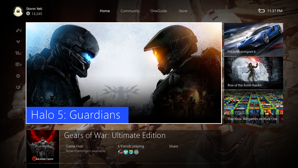 Microsoft Start Rolling Out New Xbox One Dashboard With Overhauled Design UNILAD Home Hero Halo5.034053
