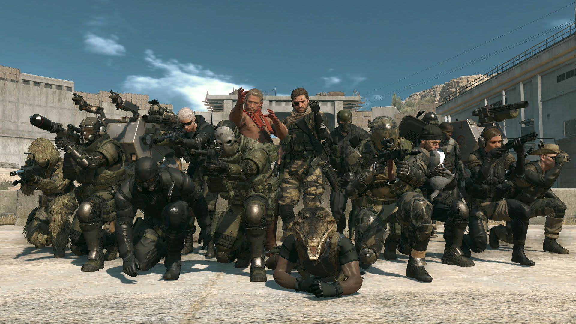 Studio Responsible For Metal Gear Online Has Been Closed By Konami UNILAD MGO free gifts110378