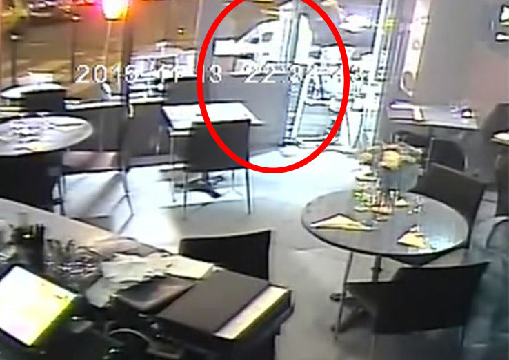 Video Shows Luckiest Woman Alive Escaping Point Blank Shooting By Paris Attacks Mastermind UNILAD Man with gun 236672