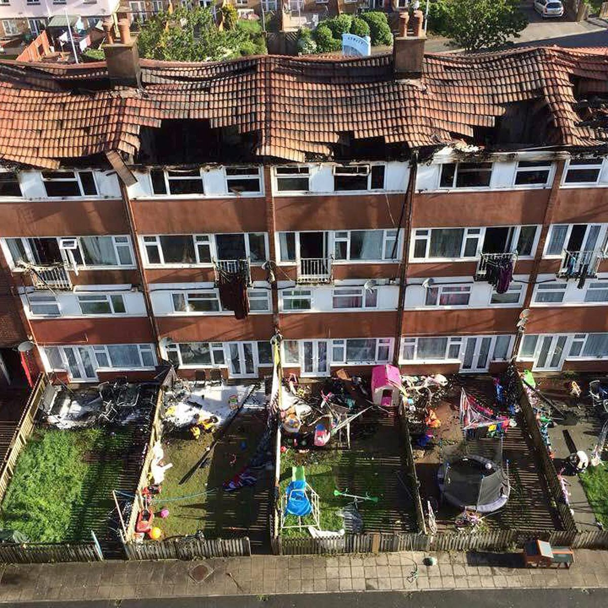 Boy Tries To Recreate Science Experiment, Burns Down Block Of Flats Causing £3m Damage UNILAD SWNS FLAT FIRE 0267613