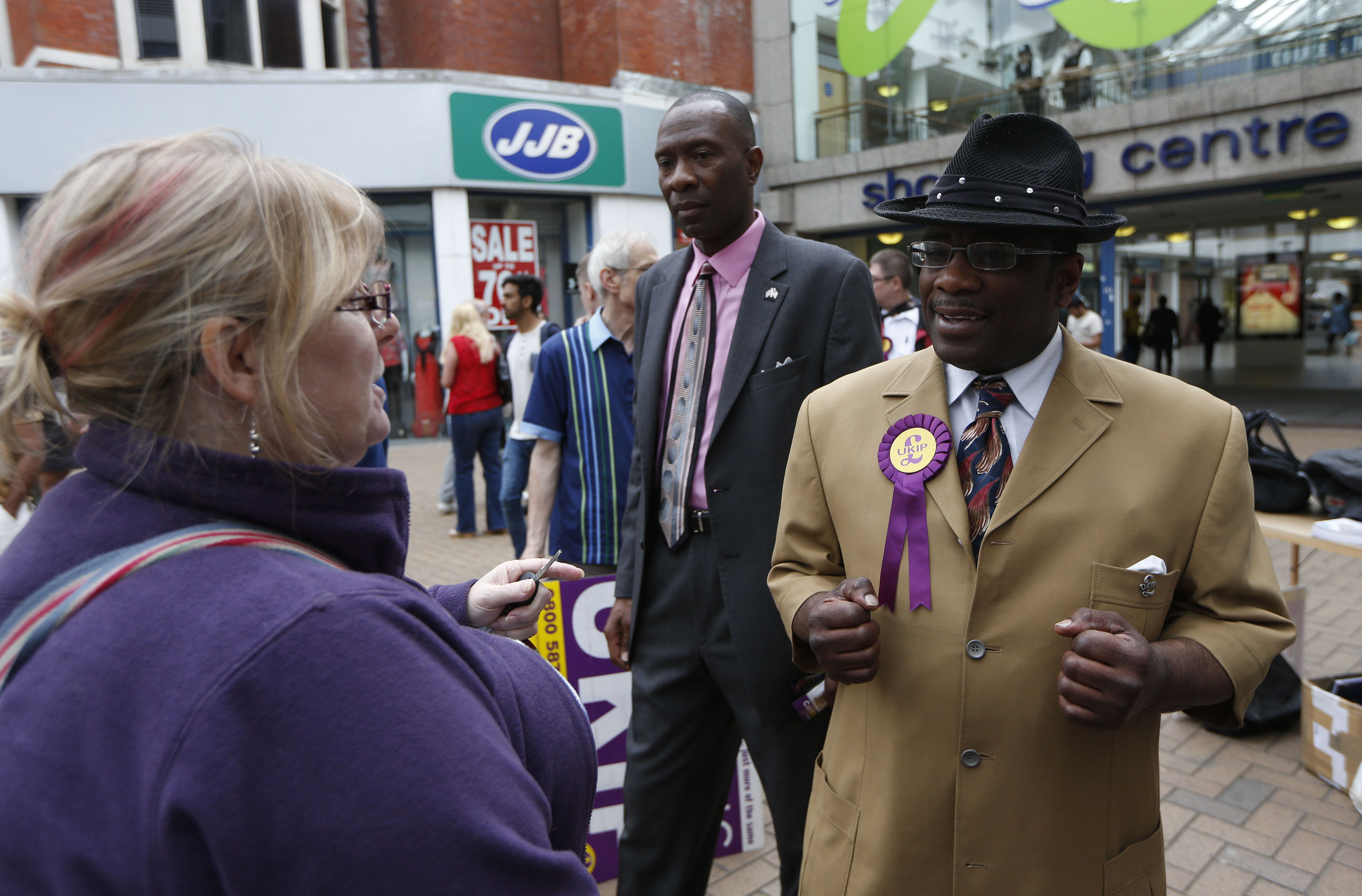 Prominent Black UKIP Member Quits Party Due To Racial Discrimination UNILAD Sang TanPA Images29714