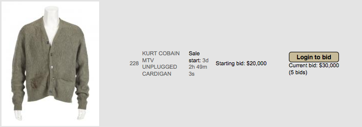 Kurt Cobains Hair And Personal Items Are Being Sold At Creepiest Auction Ever UNILAD Screen Shot 2015 11 04 at 15.10.5287036