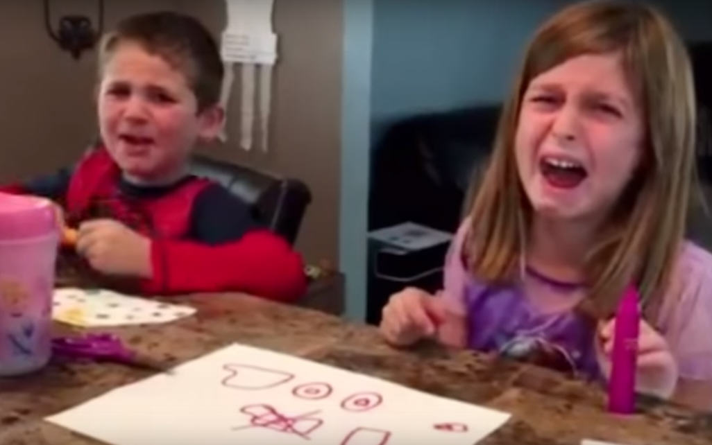Parents Tell Kids They Ate All Their Halloween Sweets, Results Are Hilarious UNILAD Untitled 124482