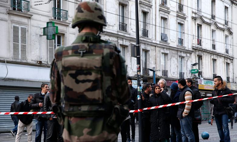 St Denis Raids Just In Time To Prevent Operation By Terrorists UNILAD Yoan ValatEPA59807