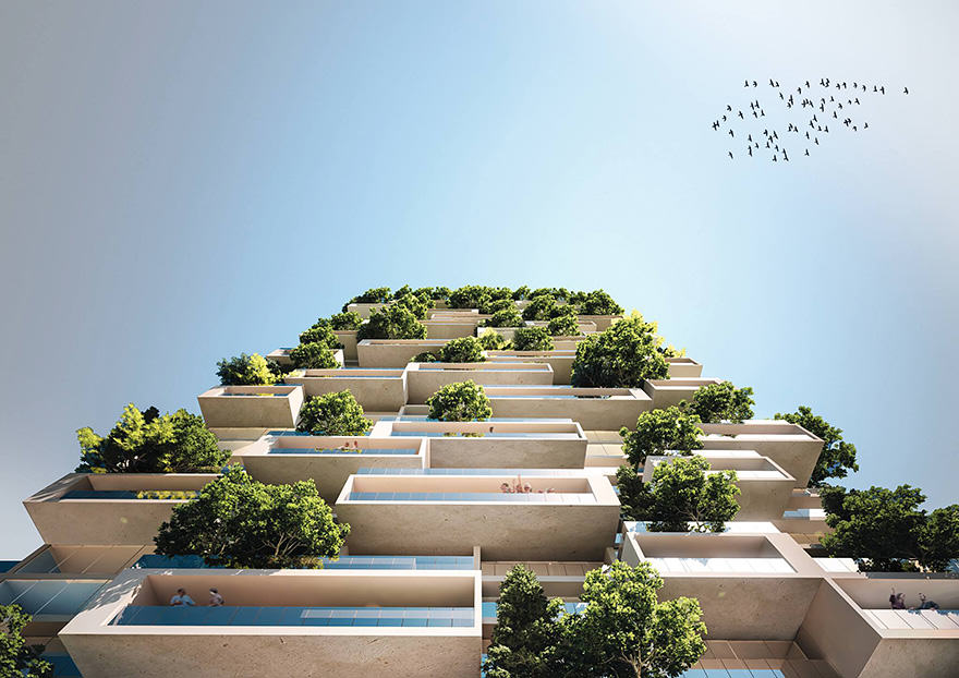 First Building In The World To Be Covered In Trees Looks Incredible UNILAD apartment building tower trees tour des cedres stefano boeri 73591