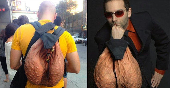 That Ball Sack Scrotum Backpack Is Officially Going On Sale UNILAD ballsack 6318766553