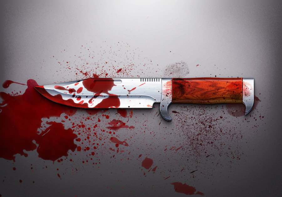 The 10 Most Fucked Up Voodoo Murders UNILAD bloody knife icon by bluex design d5bets925906