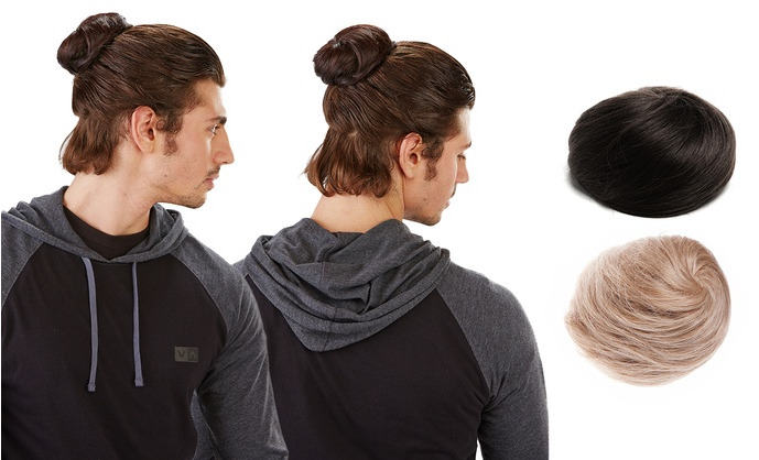 You Can Now Buy Clip On Man Buns For The Ultimate Hipster Douchebag Look UNILAD clip on man bun 123222