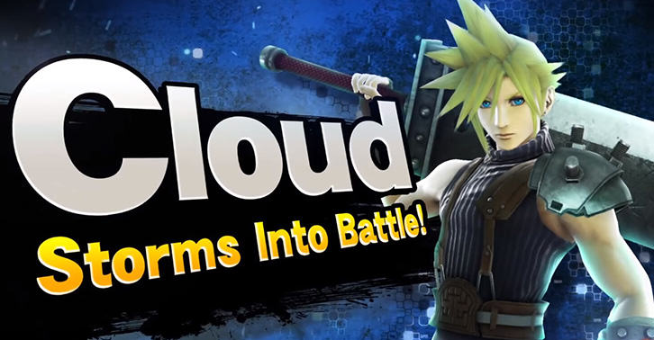 Cloud From Final Fantasy 7 Coming To Super Smash Bros UNILAD cloud5820864690