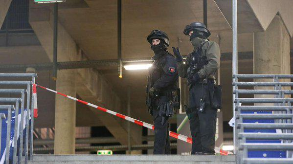 Concrete Plans For Explosion At Hannover Stadium Sees Match Evacuated UNILAD hanover 1349
