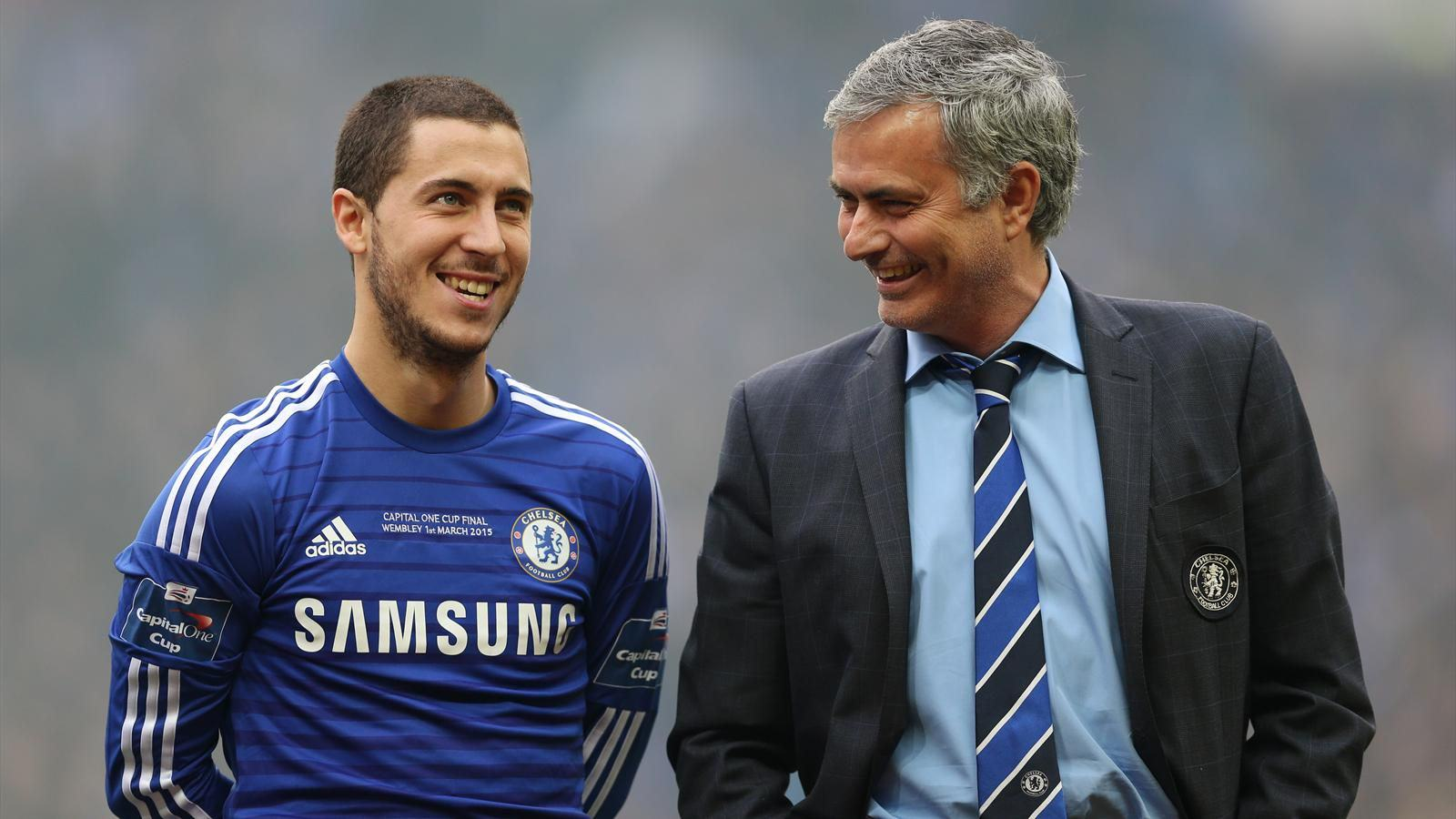 Jose Mourinho Is Chelseas Special One, And The Fans Know It UNILAD hazard jose34196