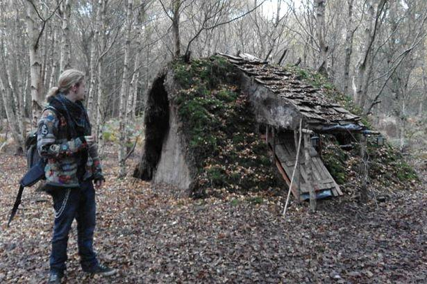 Homeless Man, 21, To Be Kicked Out Of His Handmade Hobbit House UNILAD hobbit house 177109