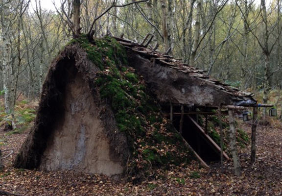 Homeless Man, 21, To Be Kicked Out Of His Handmade Hobbit House UNILAD hobbit house WEB 253907