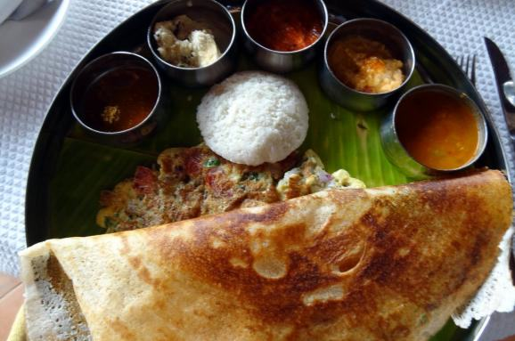 The Most Important Meal Of The Day? Around The World In 20 Breakfasts UNILAD im578x383 india breakfasts in india vary by region but often youll find a tray like this one crowded with chutneys dips and breads like dosa roti or idli95116